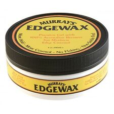 MURRAY'S EDGEWAX Edge Control Premium Gel 100% Australian Beeswax No Flaking 4oz