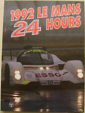 Le Mans 24 Hours 1992 Annual in English high quality colour book