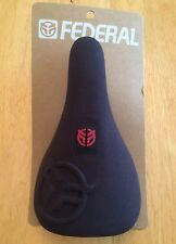 New federal royale slim pivot bmx siège noir & rouge odyssey vélo selle bsd