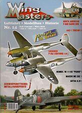 Wing masters nº 14 febrero/marzo 2002 aviación * modellbau * historial
