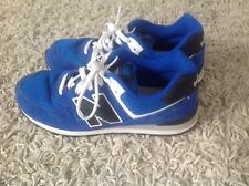 New balance 574 Ladies Blue Suede Zapatillas Size UK 5 EU 38