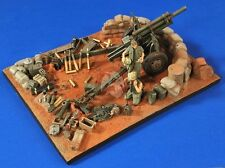 Verlinden 1/35 Fire Base Charlie Vietnam Base, Ammo, Gear and 2 Figures 2764