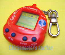 DOGGIE DOG VIRTUAL GIGA PET GAME DIGIPOOCH by TIGER KFC *WORKS* CYBER KEYCHAIN