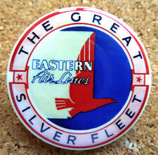 1934 Eastern Airlines Design Button Pin Back Modernist Mid-Century Deco #26