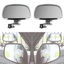 2pcs Vehicle Car Blind Spot Square SideView Wide Angle Rear Mirrors Rear