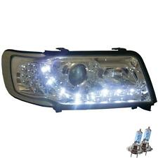 Scheinwerfer Set Audi 100 C4 Bj. 90-94 LED Dragon Lights klarglas/chrom 1100690
