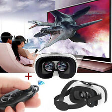 FIIT VR 2N  Virtual Reality 3D Glasses +Remote Controller For 4'' - 6.5'' Phones