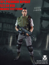 PREORDER 1/6 Resident Evil Chris Redfield Figure Biohazard Toys Hot Leon Wesker