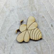 12 Pack Wooden BUSY BEE Fairy Door Accessory Code BEE