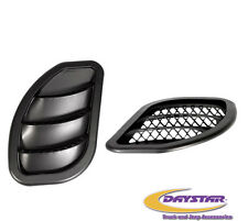 Daystar® Side Hood Vents 84-01 Jeep Cherokee XJ & Comanche MJ KJ71052BK Black