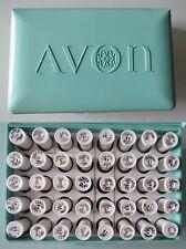 Vintage - Avon - boite de 40 échantillons rouge à lévres