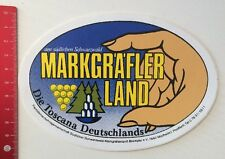 Aufkleber/Sticker: Markgräfler Land - Südlichen Schwarzwald Toscana DE(04041664)