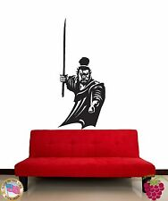 Wall Stickers Vinyl Decal Samurai Warrior Fighter Japan z1041