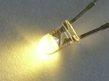 LED's Warm White 3mm  x 20  inc. res.