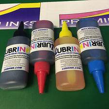 4x100ml LUBRINK REFILL INK for Refilling HP DESKJET 1110 2130 2132 2134 Printers