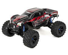 RED TRAXXAS 770764 X-MAXX BRUSHLESS MONSTER TRUCK RTR 4WD CHARGER+2X LIPO PACK