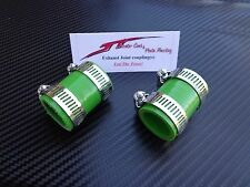 (Green) Yamaha Banshee Quad exhaust pipe clamps all years fmf,dg, factory ATV