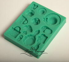 Fashion Hat bag woman silicone mould mold Cup Cake Chocolate sugarcraft fondant