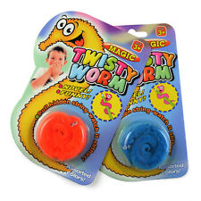 1pcs Magic Worm Magician Trick Twisty Plush Wiggle Stuffed Animal Street Toy