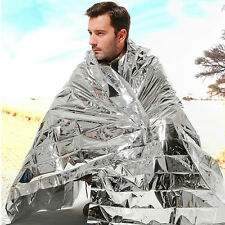 1 x Outdoor Emergency Survival Rescue First Aid Rescue Blanket 130*210cm UR