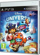 Disney Universe [PlayStation 3 PS3, Region Free, Kids Adventure] Brand NEW