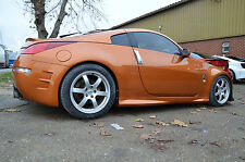 Nismo V1 Style Side Skirts for Nissan 350z 2003-2009, fibreglass BEST FITTING!!