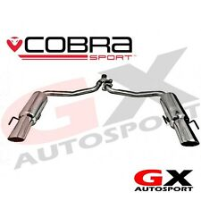 ME12 CobraSport Mercedes C200 Diesel 07-13 C350 Style Dual Rear Back Box Exhaust