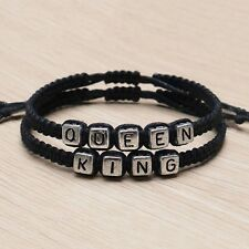 1 Paar Handgemachte Couple Armbänder King And Queen Armband Bangle Geschenk