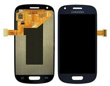 DISPLAY LCD+TOUCH SCREEN per SAMSUNG GALAXY S3 MINI GT i8190 Vetro BLUE NUOVO