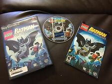 LEGO Batman: The Videogame  (PlayStation 2, 2008)COMPLETE