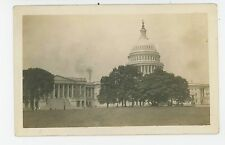 View of the Capitol from the Mall RPPC Antique Washington DC Photo 1910s