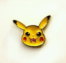 Mini pickachu pokemon kawaii enamel pin badge 20mm