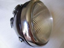 "6"" LUCAS MU42 HEADLAMP HEAD LIGHT HEADLIGHT COMPLETE BSA NORTON MATCHLESS AJS"