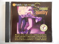 STEPPIN' COUNTRY : EXTENDED CLUB MIXES! DOLLY PARTON, COLLIN RAYE... - CD ALBUM