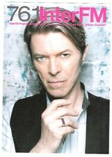 DAVID BOWIE 2003 Radio Station Japanese Flyer / mini Poster 8x6 inches