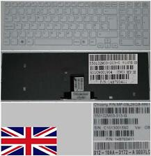 Clavier Qwerty UK SONY VAIO VPC-EB 148793411 MP-09L26GB-8861 Blanc-frame Blanc