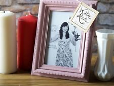 Katie Alice COLLECTION small rosa rettangolare shabby chic permanente Photo Frame