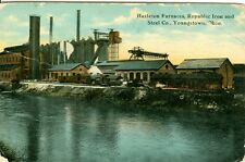 Youngstown, OH Hazelton Furnaces, Republic Iron and Steel Company 1911