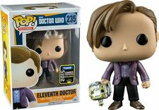 "DAMAGED BOX EXCLUSIVE SDCC ELEVENTH DOCTOR WHO CYBERMAN HEAD 3.75"" VINYL POP"