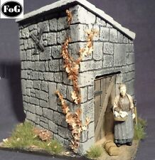 1/35 Scale Farm Building/Out house (2 walls and roof section)
