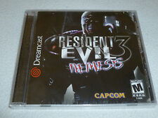 BRAND NEW FACTORY SEALED SEGA DREAMCAST GAME RESIDENT EVIL NEMESIS 3 CAPCOM RARE