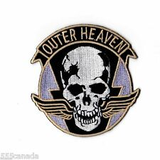 IRON ON Metal Gear Solid OUTER HEAVEN Logo Patch - Snake Phantom Pain 2 3 4 V