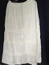 Skirt  New Long Elastic waist Skirt With Lining Fits Large to 2 X Large