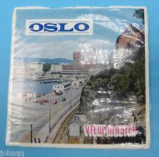 View-Master C490-E, Oslo, Norway, 3 Reel Set