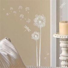 Main Street Wall Creations Dandelions & Dragonflies Wall Stickers, Decals