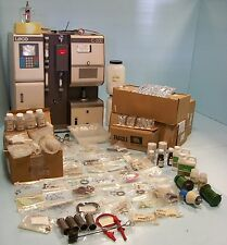 LECO C-200 CARBON ANALYZER MODEL# 605-700 WITH MANUALS AND SPARE PARTS.