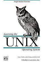 Learning the UNIX Operating System (Nutshell Handbooks) Peek, Jerry, Strang, Jo