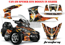 Amr racing decoración Graphic kit ATV can-am spyder RS, RSS, RT, RT-s, f3 Firestorm B