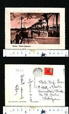 MESSINA (ME) - PALMETI LUNGOMARE - ANNO 1949 BEN CONSERVATA - 54396