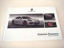 Porsche Panamera. exclusivo Panamera. 2013 folleto de ventas